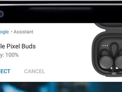 Pixel 2 Phones Can Show Battery Levels Of Bluetooth Devices