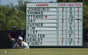 A glance at 1st round of US Open