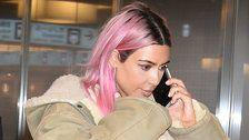 How To Get Pastel Pink Hair Like Kim Kardashian's New Look