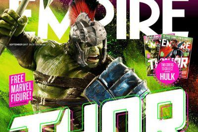 Thor and Hulk Featured on Covers for the New Empire