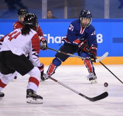 Korea's historic goal - by American Randi Griffin - has roots to USA's first gold in 1998