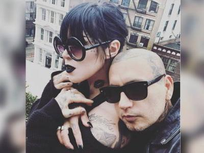 LA Ink's Kat Von D and Leafar Seyer Revealed They Have a Little Goth Baby on the Way, and It's A