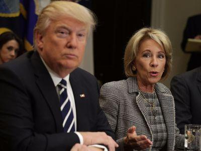 Advocates slam Trump's proposed education budget and call it 'an assault on the American dream'