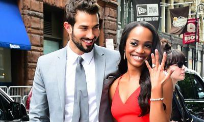 'Bachelorette' Rachel Lindsay Is Living Her Best Life With Bryan Abasolo at Their Engagement Party