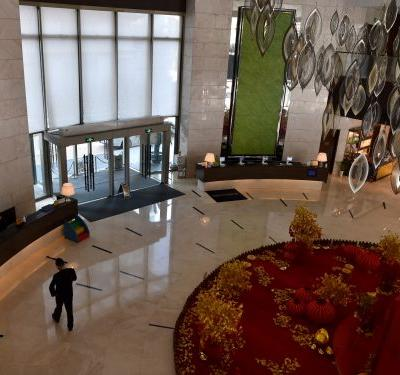 A 5-star hotel in Wuhan, the epicenter of the coronavirus outbreak, has opened its doors to emergency workers and stranded guests. Here's what it's like inside