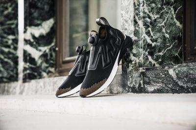 Reebok's Pump Supreme Ultraknit Now Comes in a Bold Black & Brown Colorway