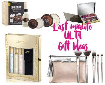 Holiday Gift Guide: Last Minute ULTA Gift Ideas
