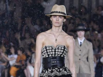 Dior Shows Cruise Collection Inspired by Female Mexican Rodeo Riders in the Pouring Rain