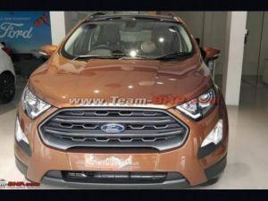 Ford EcoSport Titanium S Spotted At Dealership