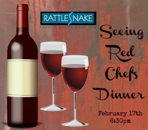 Seeing Red Chef's Dinner / Feb 17