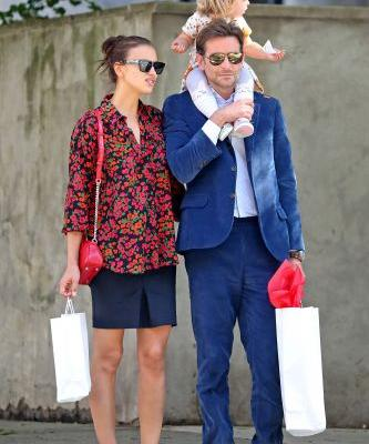 Irina Shayk and Bradley Cooper's Day Date Outfits Are Impossibly Chic