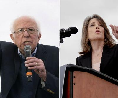 Marianne Williamson endorses Bernie Sanders after his Nevada win