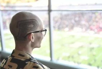 How Purdue fan Tyler Trent made a difference - even in final hours