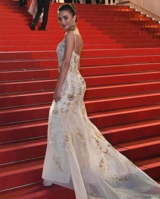 Actress Amy Jackson was magnificent in Georges Hobeika for the