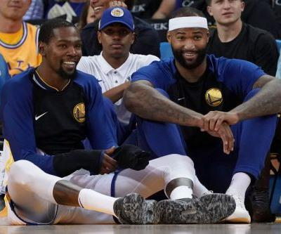 Opinion: DeMarcus Cousins might try to help make Warriors America's 'most hated team'