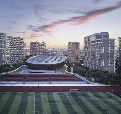Sports Hall of Shanghai University of Science and Technology / TJAD