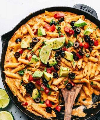 Chicken Enchilada Pasta Is a Must-Try Recipe