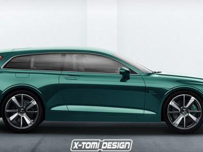 Polestar 1 Shooting Brake Render Marries Performance And Practicality