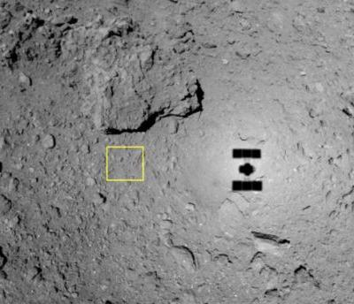 Japan's asteroid probe just blew another hole in the space rock Ryugu