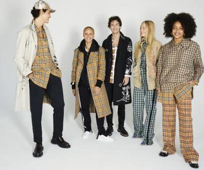 Burberry Unveil Juergen Teller's Second Portfolio Of Adwoa Aboah And Friends In New York