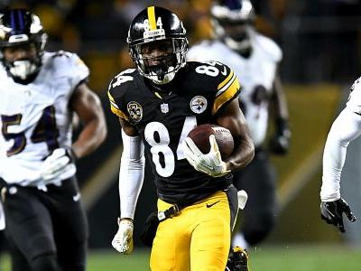 Antonio Brown, Steelers showing they can outscore anyone, even the Patriots