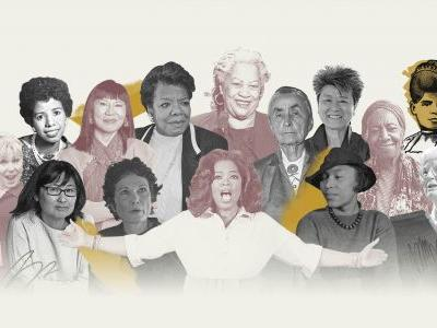Oprah Winfrey, Maya Angelou and Toni Morrison among Women of the Century for arts, literature and media