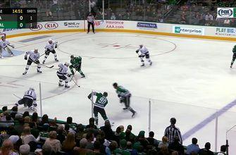 WATCH: Blake Comeau tallies first goal as a Star, Dallas leads Los Angeles 1-0