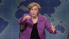 Kate McKinnon's Elizabeth Warren Is The Prostate Exam America Needs On 'SNL'
