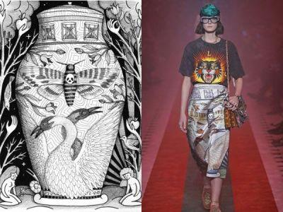 This is How Illustrator Jayde Fish Reimagined Gucci Motifs