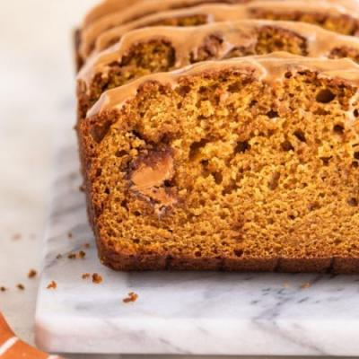 Cookie Butter Pumpkin Bread