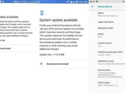 Report: Xiaomi Mi A1 Android 8.0 Oreo Rollout Continues