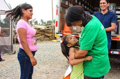 Medical Aid and Food to Thousands of Peru Flood Victims