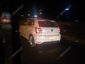 2019 Polo Facelift Caught Testing Ahead Of Its Launch