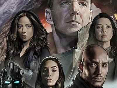 New Agents of SHIELD Poster Immortalizes the First Half of Season 5