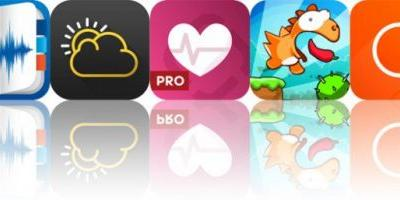 Today's Apps Gone Free: eXtra Voice Recorder, Rane, Runtastic Heart Rate and More