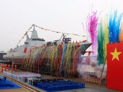 China just launched its 'new generation' naval destroyer