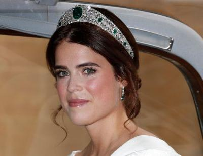 Princess Eugenie's second dress for her wedding reception broke with a royal tradition followed by both Meghan Markle and Kate Middleton
