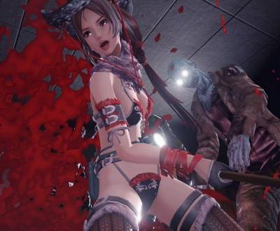 School Girl/Zombie Hunter throws its pants at Steam