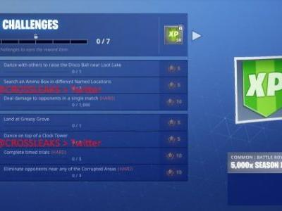 Fortnite Season 6 Week 4 challenges leaked