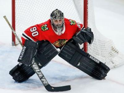 Why NHL teams use goalies off the street to fill in for injured players - like the 36-year-old accountant who became a star for the Blackhawks
