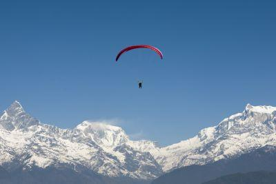 Himalayan Paragliding - Nepal Photo of the Day