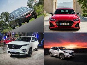Cars Set To LaunchDebut Next Week MG Hector Plus Honda City 2020 Facelifted Hyundai Tucson Audi RS7 And More