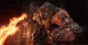 Doom is available for free for PlayStation Plus members