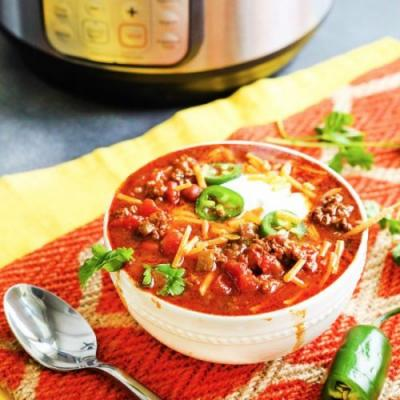 The Best Instant Pot Chili
