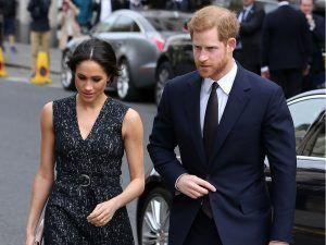 Amid Royal Baby Fever, Prince Harry And Meghan Markle Head Out In London