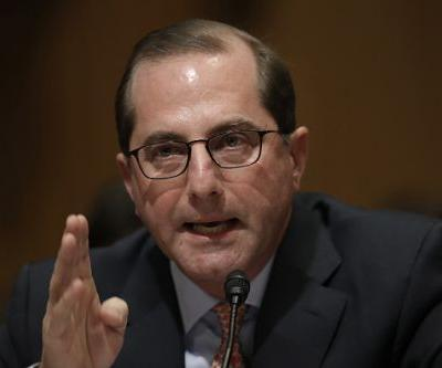 Nominee for top HHS post says he would fix system that encourages pharma companies to raise drug prices