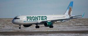 Low cost airline company Frontier began its services from Orlando