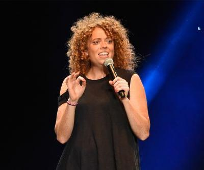 Michelle Wolf works on material for White House Correspondent's Dinner