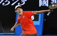De Minaur wins on dramatic night at Melbourne Park