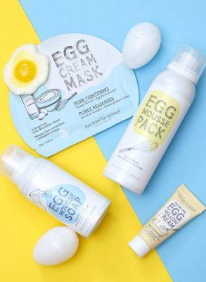 These Too Cool for School Skin Care Products Have Egg-Cellent Scents